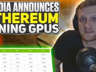 NVIDIA CMP HX Ethereum Mining GPUs | 2021