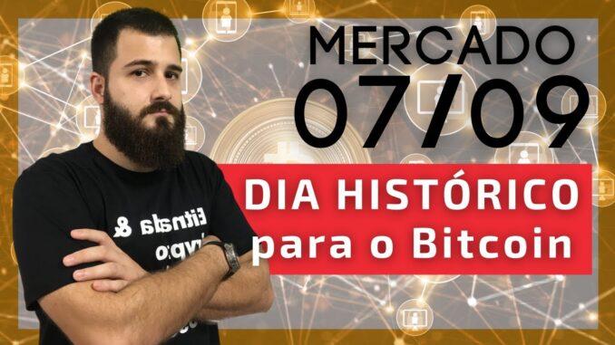7 de setembro, um marco na história do Bitcoin! / BTC 50.900 USD
