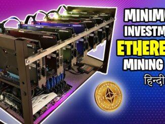 Minimum Investment ETHEREUM Mining Rig | Mining Rig Build Guide